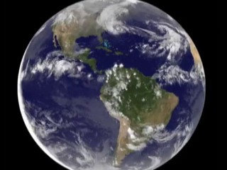 Watch: Hurricane Sandy's Progression: View From Space