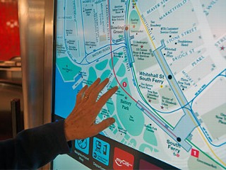NYC Subway to Get More Touchscreen Maps