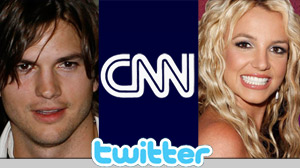 Kutcher, cnn, spears