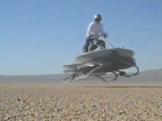 Watch: Hover Bike Tested in Mojave Desert