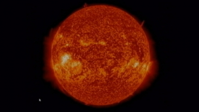 VIDEO: The geomagnetic storm could cause communication problems for satellites.