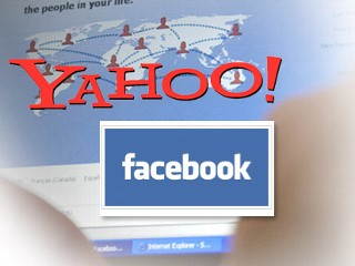 facebook and yahoo