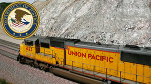 DOJ Sues Union Pacific Over Drug Stashes on Trains