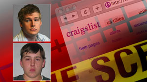 Craigslist crimes, including Philip Markoff and Michael John Anderson