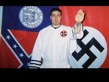 libertines christian fundamentalist kkk skin heads neo-nazis build dozen