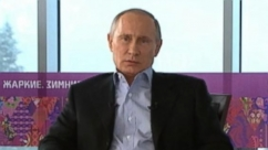 VIDEO: George Stephanopoulos interviews Russian President Putin in Sochi about security threats facing the Winter Olympics.