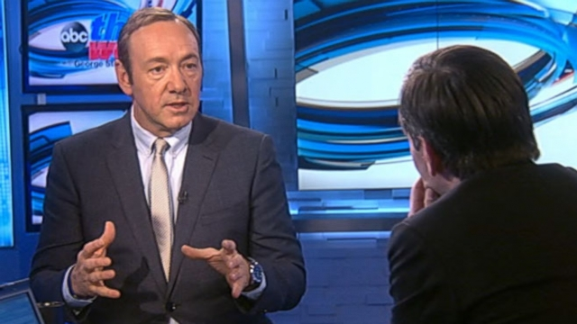 "VIDEO: Actor Kevin Spacey discusses the return of Netflix hit series ""House of Cards."""