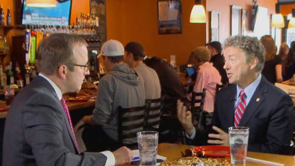 VIDEO: ABC News Jonathan Karl goes one-on-one in New Hampshire with Republican Sen. Rand Paul.