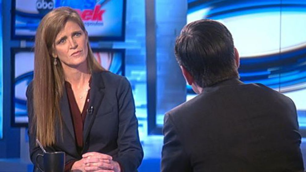 VIDEO: U.S. Ambassador to the United Nations Samantha Power on the escalation in eastern Ukraine.