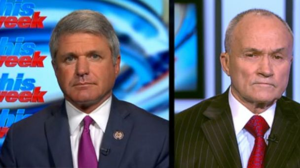VIDEO: Rep. Michael McCaul, R-Texas, and former NYPD Commissioner Ray Kelly on security for Mondays marathon.