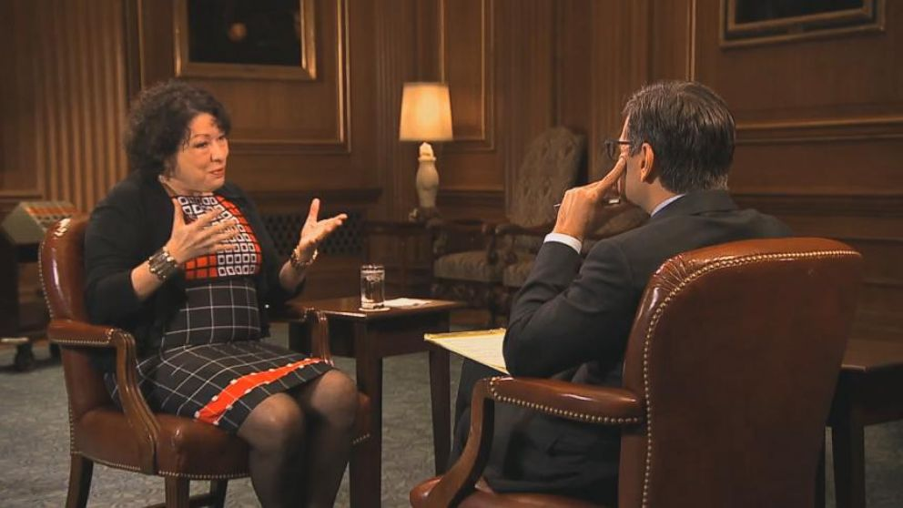 VIDEO: Sonia Sotomayor Discusses Using Word Undocumented in Court Opinion