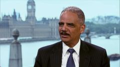 VIDEO: Eric Holder: Redskins Name Offensive, Should be Changed