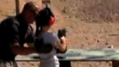 VIDEO: Facebook Find: Should a 9-Year-Old Handle an Uzi?