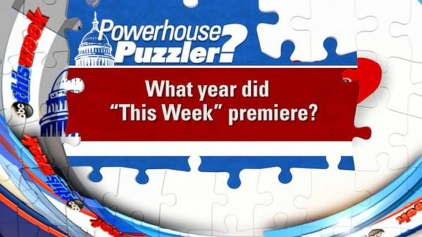 VIDEO: This Week: Powerhouse Puzzler