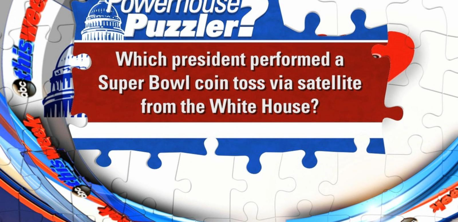 VIDEO: 'This Week' Powerhouse Puzzler