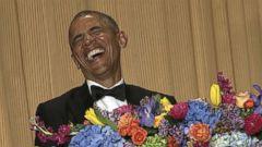 VIDEO: Inside the White House Correspondents Dinner