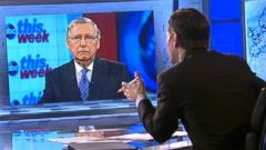 VIDEO: Sen. Mitch McConnell on This Week