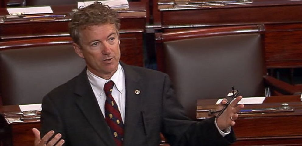 VIDEO: Rand Paul Stands Against the Patriot Act