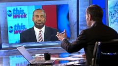 VIDEO: Ben Carson Wont Book Additional Paid Speeches