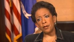 VIDEO: Loretta Lynch on ISIS Threat