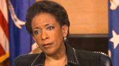 VIDEO: Loretta Lynch on Hillary Clinton Email Controversy