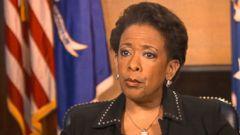 VIDEO: Loretta Lynch Disturbed, Saddened by Charleston Massacre
