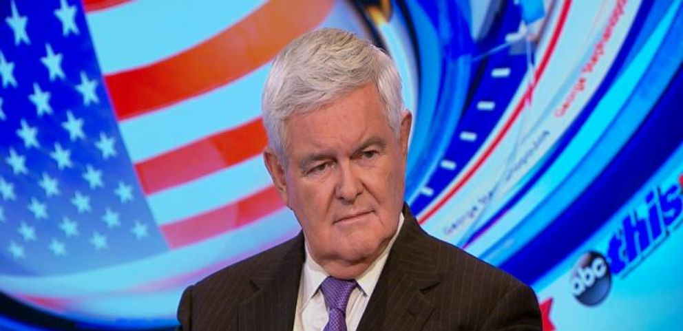 VIDEO: Newt Gingrich Says Trump Has 'Most to Win and Most to Lose' in GOP Debate