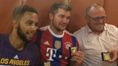 VIDEO: Trio of Americans Credited With Helping Stop Gunman on Paris-bound Train