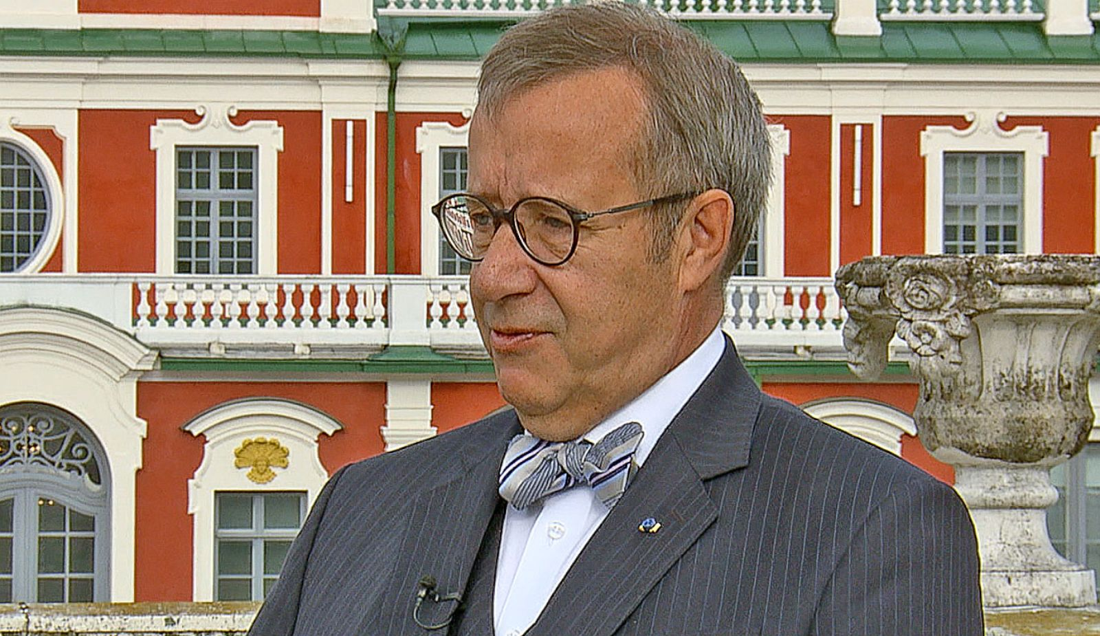 VIDEO: Estonia's President Hopes Trump 'Would Be Well-Briefed on Foreign Affairs'
