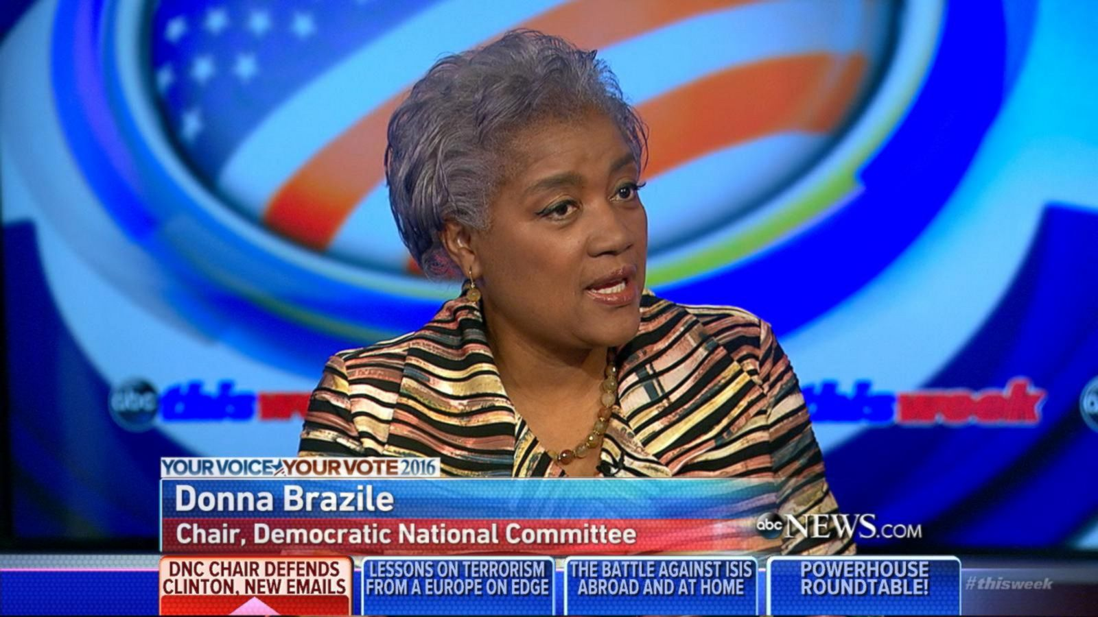 VIDEO: DNC Chair Donna Brazile on 2016 Presidential Race