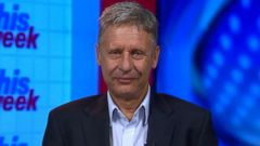 VIDEO: Gary Johnson on 2016 Presidential Race
