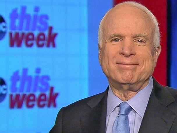WATCH:  Sen. John McCain Says He Will Vote 'In Favor' of Rex Tillerson