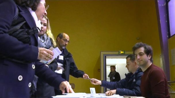 VIDEO: France votes in closely-watched election between Le Pen and Macron