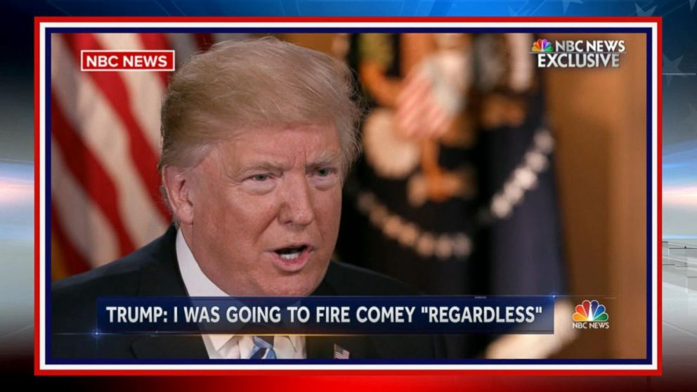 VIDEO: President Trump's decision to fire FBI Director Comey sends White House into chaos