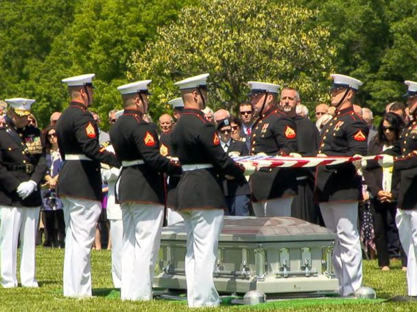 WATCH:  Missing Marine laid to rest nearly 50 years after plane shot down in Vietnam War