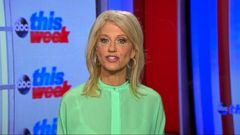 VIDEO: Counselor to the president Kellyanne Conway on This Week