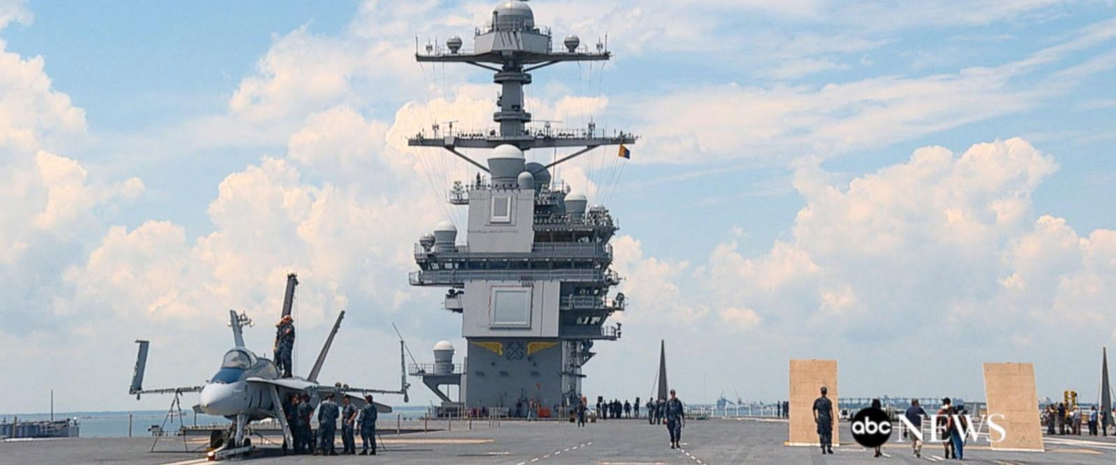 VIDEO: US Navy's new aircraft carrier is 'quantum leap into the 21st century'
