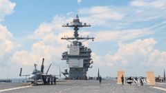 VIDEO: US Navys new aircraft carrier is quantum leap into the 21st century