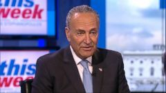 VIDEO: Senate Minority Leader Chuck Schumer on Democratic Partys agenda
