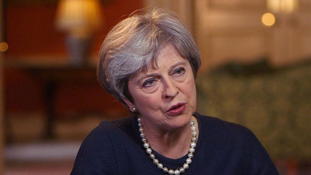 One On One With British Prime Minister Theresa May