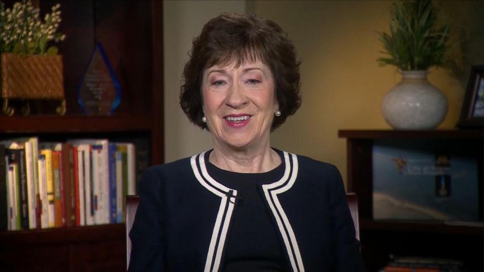 Sen. Susan Collins: Corker-Trump Twitter feud not 'very productive'