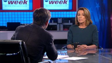 'VIDEO: This Week: 10/15/17: One-on-one with House Democratic Leader Nancy Pelosi' from the web at 'http://a.abcnews.com/images/ThisWeek/171015_tw_full_16x9_384.jpg'