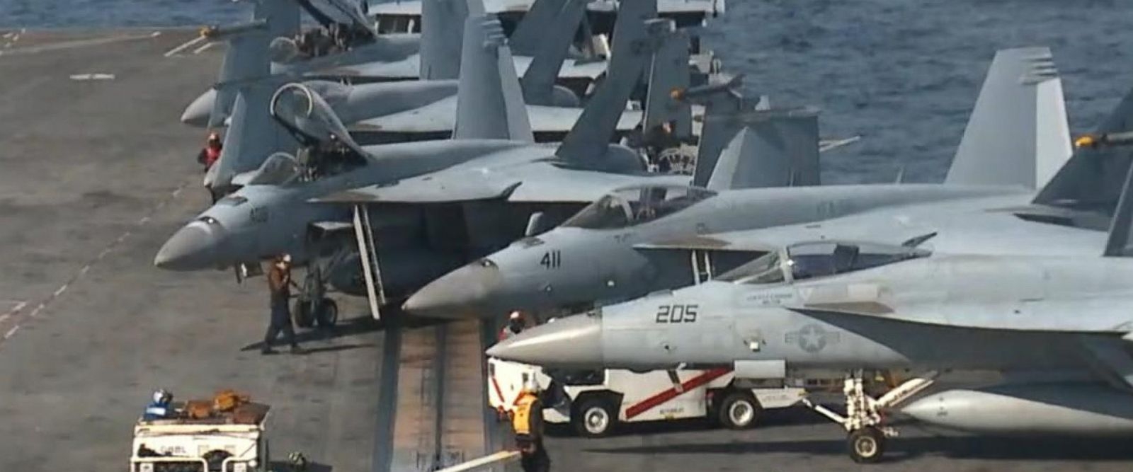 VIDEO: On the USS Reagan amid growing nuclear tensions