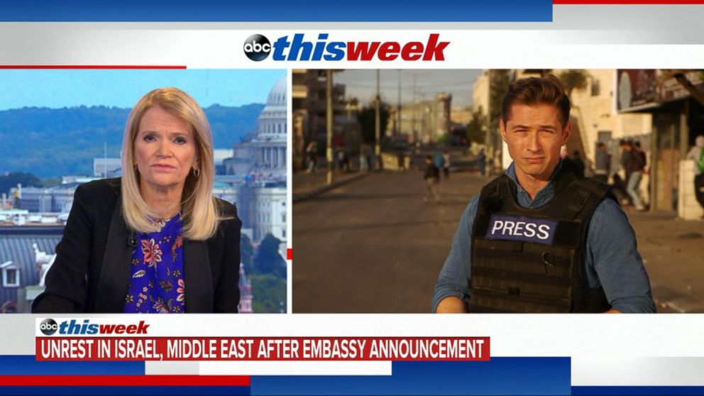 Will US embassy move hinder Middle  East  peace process?