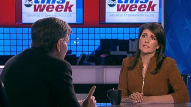 'VIDEO: This Week 01/07/18: Haley on North Korea: 'We want to always remind them, we can destroy you, too'' from the web at 'http://a.abcnews.com/images/ThisWeek/180107_tw_full_16x9_384.jpg'