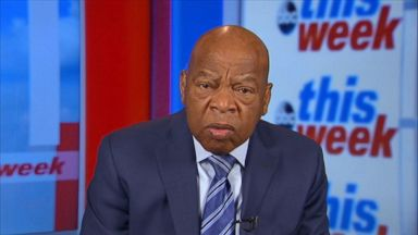'VIDEO: Civil rights legend Rep. John Lewis on race relations and Trump's immigration comment' from the web at 'http://a.abcnews.com/images/ThisWeek/180114_tw_john_lewis_16x9_384.jpg'