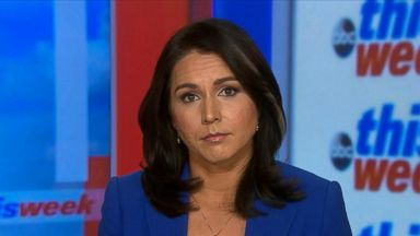'VIDEO: Rep. Tulsi Gabbard responds to false alarm incoming missile alert in Hawaii' from the web at 'http://a.abcnews.com/images/ThisWeek/180114_tw_tulsi_gabbard1_16x9_384.jpg'