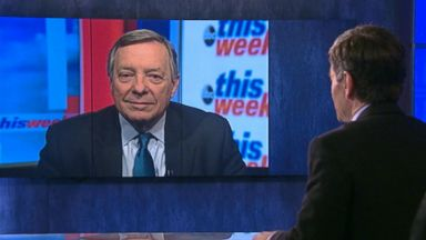 'VIDEO: One-on-one with Democratic Whip Sen. Dick Durbin' from the web at 'http://a.abcnews.com/images/ThisWeek/180121_tw_durbin_912_16x9_384.jpg'