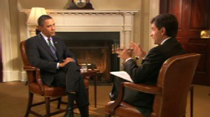 Video of George Stephanopoulos interview with President Obama for Sundays This Week.