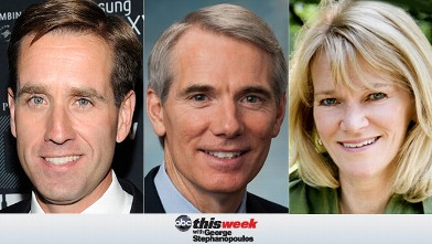 PHOTO: Beau Biden. and Sen. Rob Portman on This Week